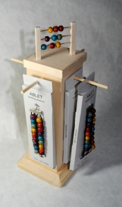 knitting abacus display